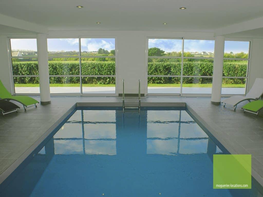 L'espace spa et piscine des Villas Mogueriec