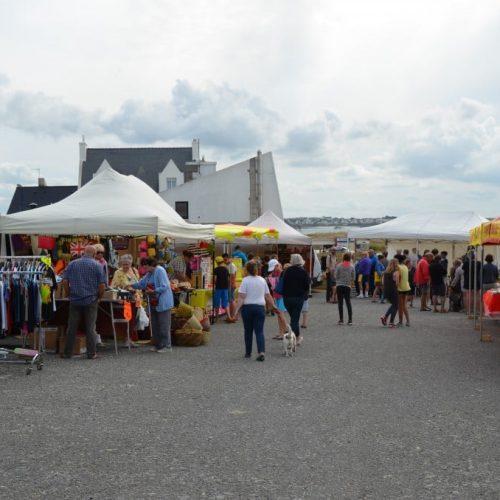 Le marché de Cléder