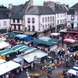 Le marché de Lesneven