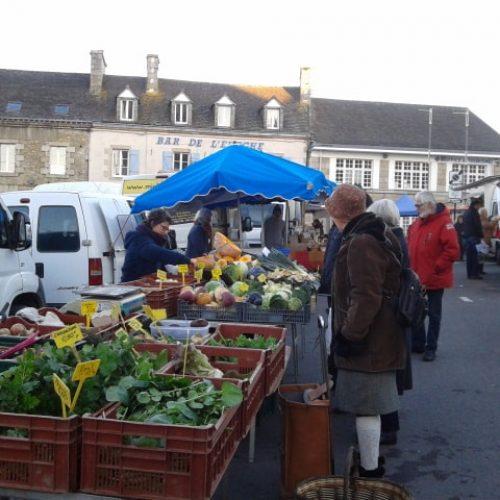 Le marché de Saint Pol de Léon