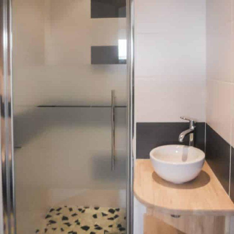 La Salle de bain de la villa Mogueriec